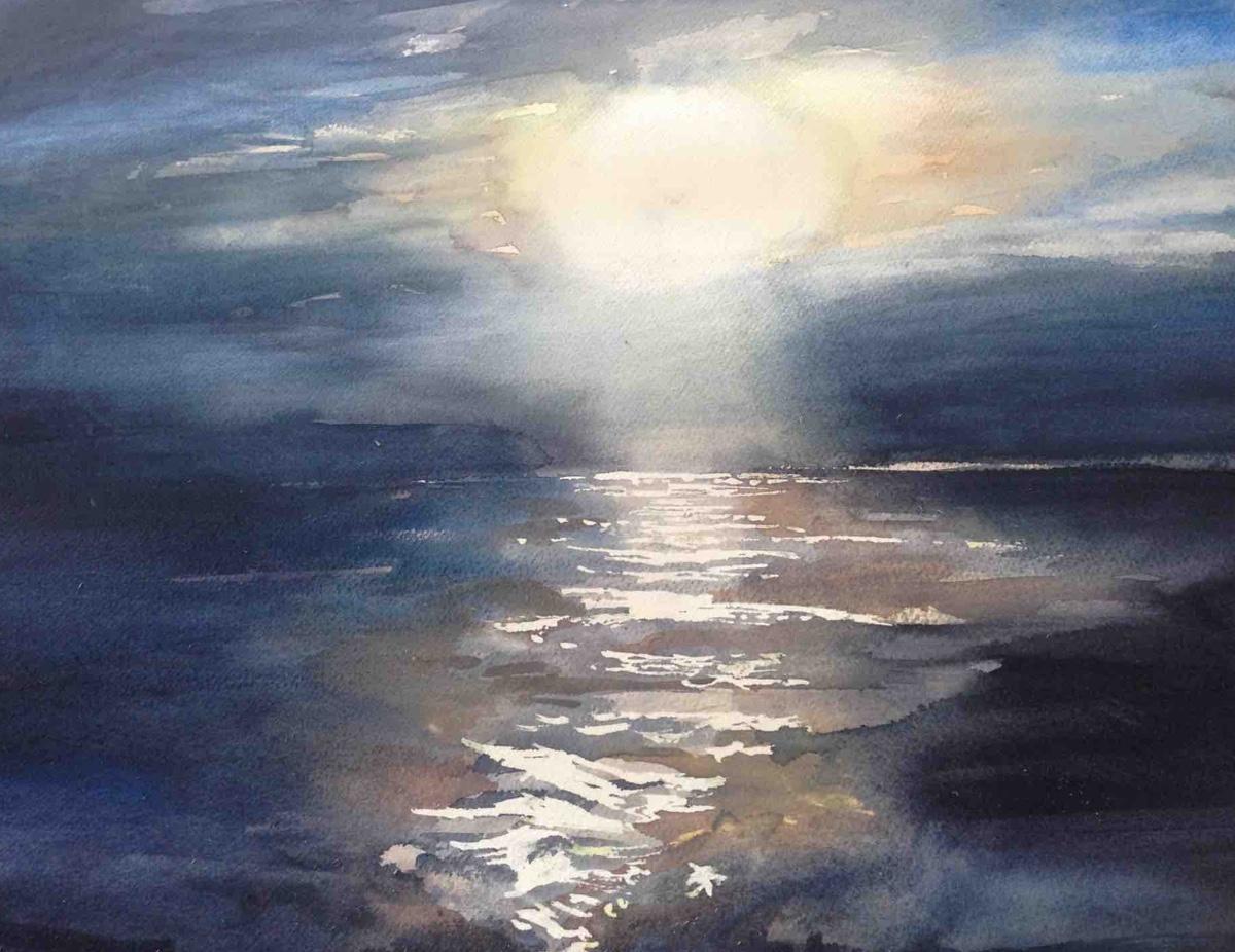 A Seascape by Rebecca