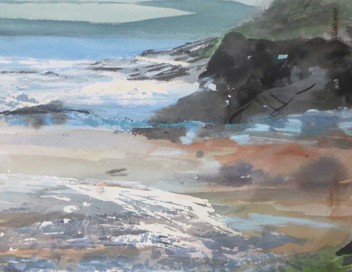 A Seascape in Cornwall or whatever text you think should go here Price ???